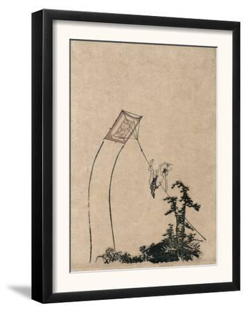 Man Climbing Kite