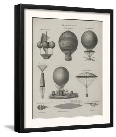 Aeronautics, Early Balloon Designs, c.1818