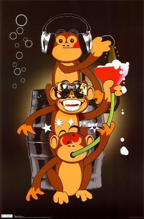Drinking Monkeys