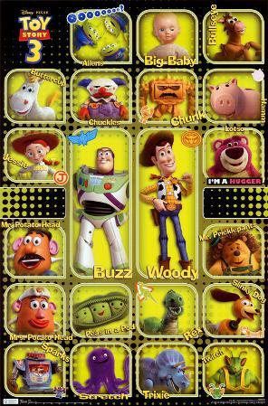 Toy Story 3 - Toys