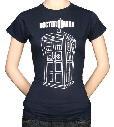 Juniors: Doctor Who - Tardis Vector Graphic