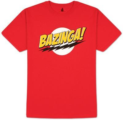 Big Bang Theory - Bazinga! No Face