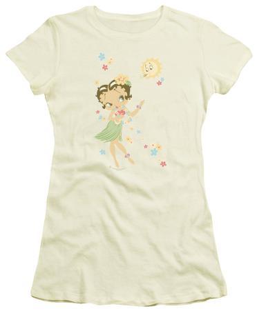 Juniors: Betty Boop-Hula Flowers