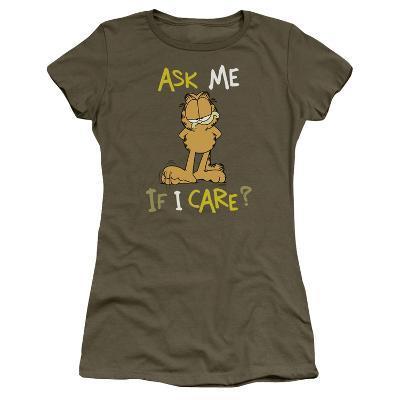 Juniors: Garfield-Ask Me If I Care