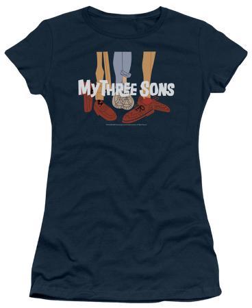 Juniors: My Three Sons-Shoes Logo