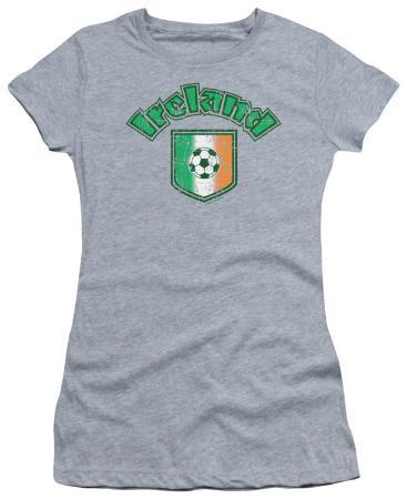 Juniors: Ireland With Soccer Flag