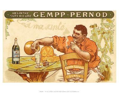 Absinthe Gempp Pernod, c.1912