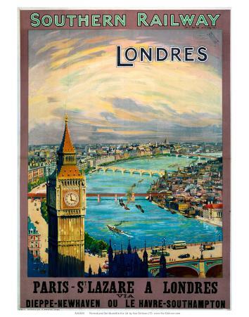 Londres, SR, c.1923-1947