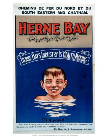 Herne Bay, It's Ripping!, SE & CR, c.1920s