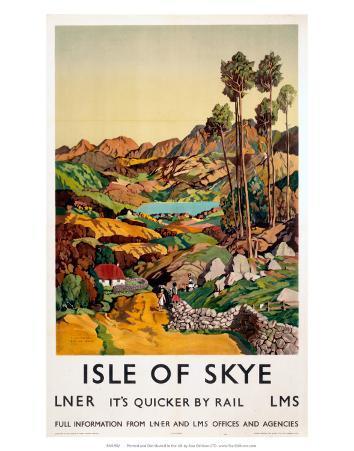 Isle of Skye, LNER, c.1939