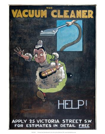 Help!, promoting the British Vacuum Cleaning Company Ltd, c.1906