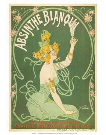 Absinthe Blanqui, c.1895