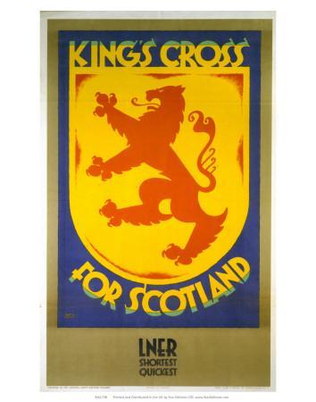 King's Cross for Scotland, LNER, c.1923-1947