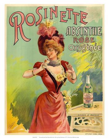 Absinthe Rosinette, c.1900