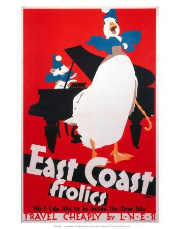 East Coast Frolics, LNER, c.1933