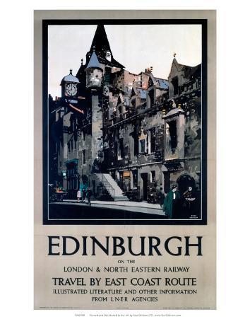 Edinburgh, LNER, c.1923-1947