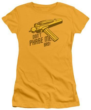 Juniors: Star Trek-Don't Phase Me Bro