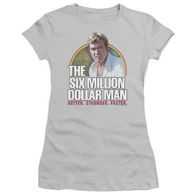 Juniors: The Six Million Dollar Man-Better. Stronger. Faster.