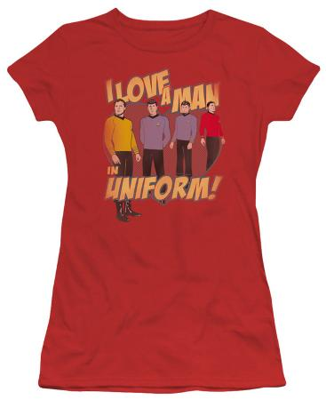 Juniors: Star Trek-Man In Uniform