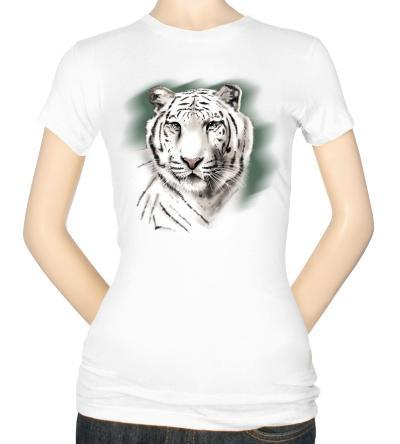 Juniors: White Tiger Stripe