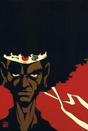 Afro Samurai - Japanese Style
