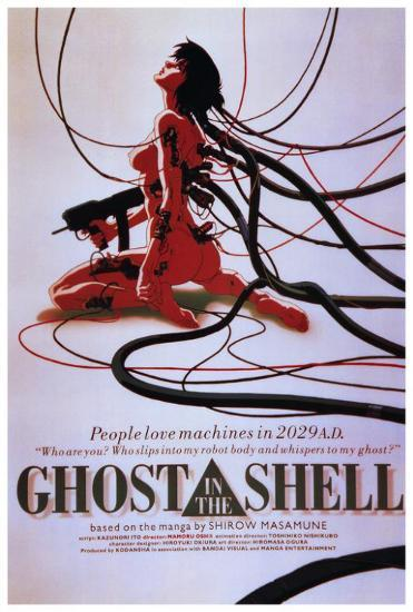 Image result for Ghost in the Shell anime poster