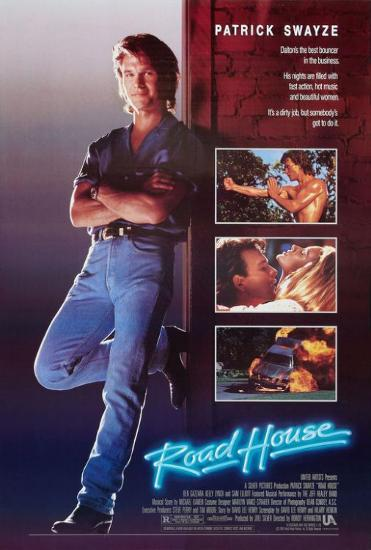 Roadhouse | Roadhouse movie, Patrick swayze, Movie stars