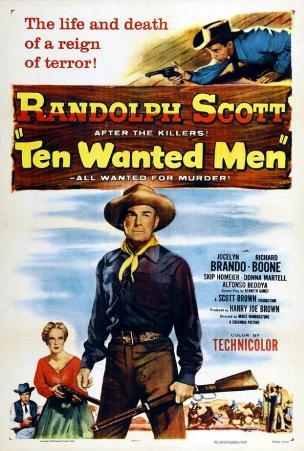 Ten Wanted Men