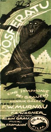Nosferatu, a Symphony of Horror - German Style