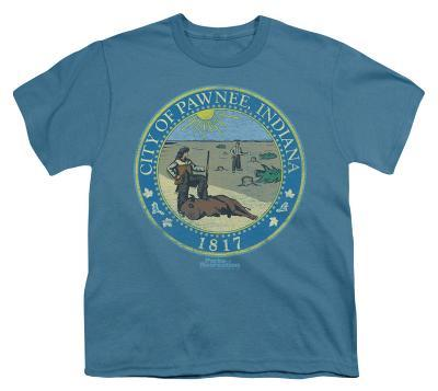 Youth: Parks & Rec-Distressed Pawnee Seal
