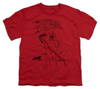 Youth: Speed Racer-Racer X Distressed