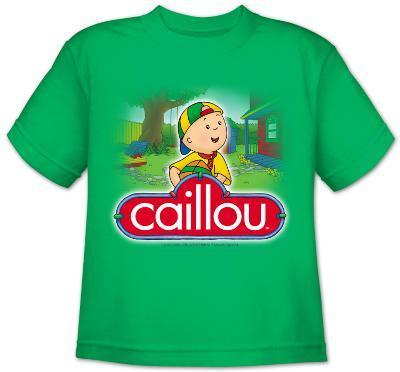Youth: Caillou - Back Yard