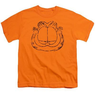 Youth: Garfield - Smirking Distressed