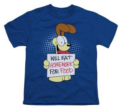 Youth: Garfield - Will Eat Homework