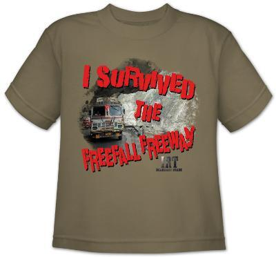 Youth: Ice Road Truckers - I Survived