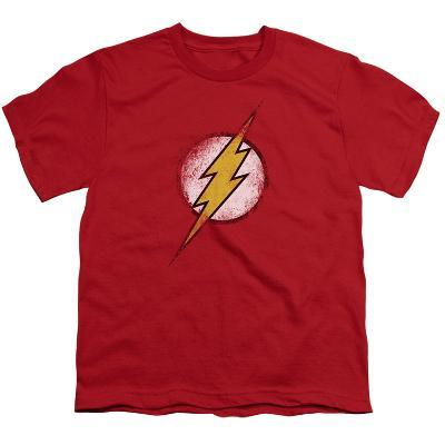 Youth: Justice League America - Destroyed Flash Logo
