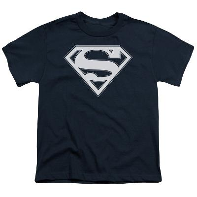 Youth: Superman - Navy & White Shield