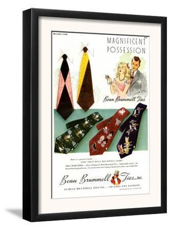 Beau Brummell, Magazine Advertisement, USA, 1940