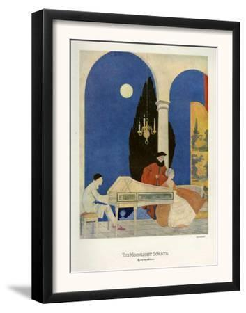 The Moonlight Sonata, Magazine Plate, UK, 1920