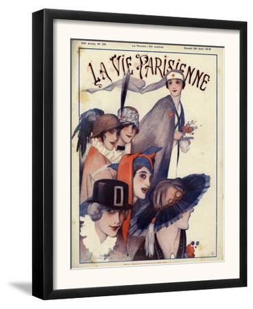 La Vie Parisienne, Magazine Cover, France, 1915