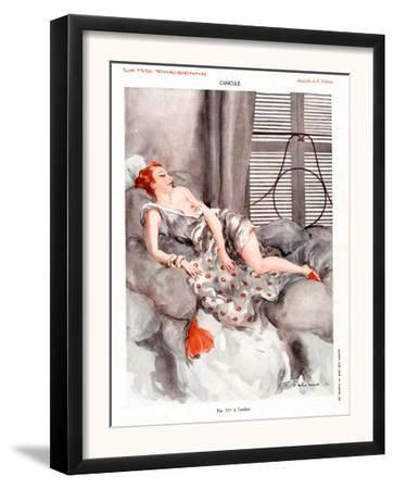 La Vie Parisienne, Magazine Plate, France, 1920
