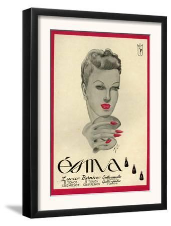 Esma, Magazine Advertisement, Spain, 1942