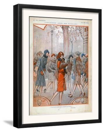 La Vie Parisienne, Magazine Plate, France, 1925