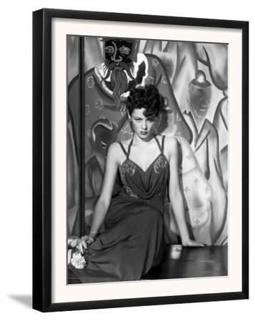 The Shanghai Gesture, Gene Tierney Wearing a Costume Designed by Oleg Cassini, 1941