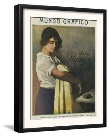 Mundo Grafico, Magazine Cover, Spain, 1916