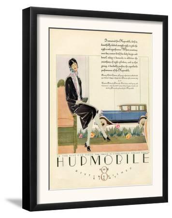 Hupmobile, Magazine Advertisement, USA, 1929