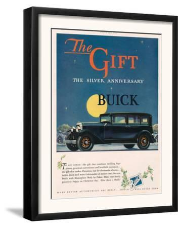 Buick, Magazine Advertisement, USA, 1928