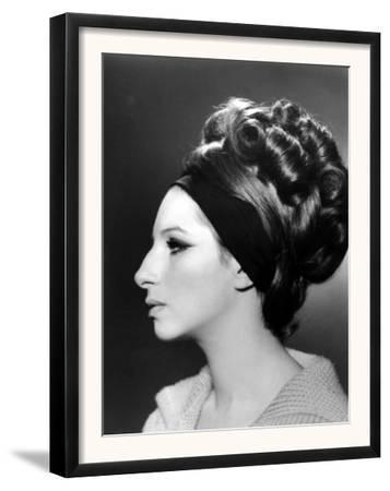 Portrait of Barbra Streisand