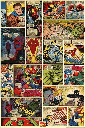 Marvel Comics (Comic Panels)