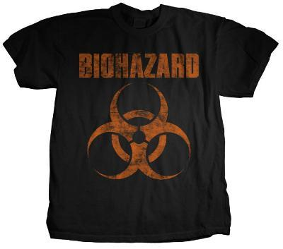 Biohazard - Distressed Logo